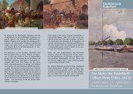 Ein Maler für Radolfzell: Albert Fierz (1861-1913)