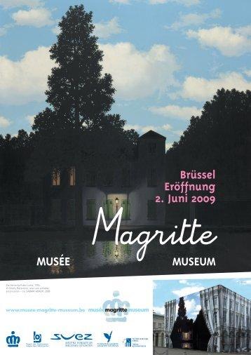 Magritte-Museum - Fliegen und Reisen