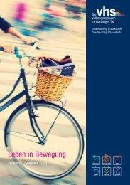 Programm Frühjahr-Sommer 2013 - VHS Oberhaching