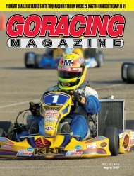 August - Go Racing Magazine
