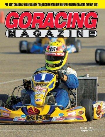 August - Go Racing Magazine