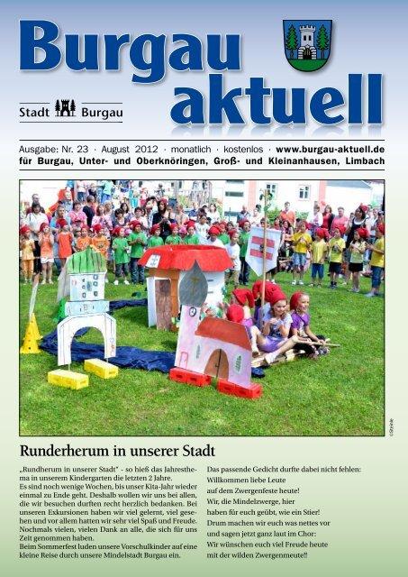 August - Stadt Burgau