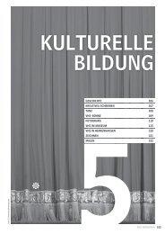 Kulturelle Bildung - Volkshochschule Hannover