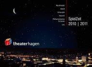 SpielZeit 2010 | 2011 - Theater Hagen