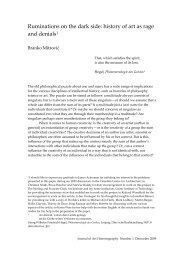 Branko Mitrović - Journal of Art Historiography