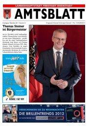Amtsblatt Layout - Eisenstadt