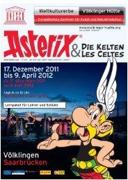 Lernpaket Asterix - Völklinger Hütte