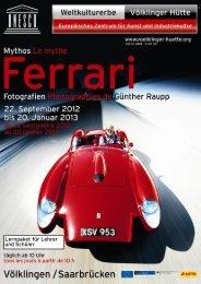 Lernpaket Mythos Ferrari - Völklinger Hütte