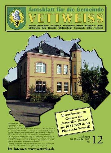 Dezember 2009 - Gemeinde Vettweiss