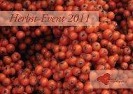 Herbst-Event 2011 - blumen-impression