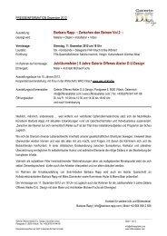 Barbara Rapp :: Zwischen den Beinen Vol.2 ... - Villach