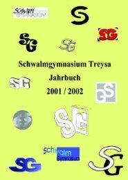 Jahrbuch 2001/2002 - Schwalmschule Treysa