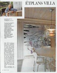 Étplans villa med farverige detaljer - Dorte Barth