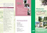 Flyer zum Leben und Wohnen in guter Nachbarschaft - Ostfildern