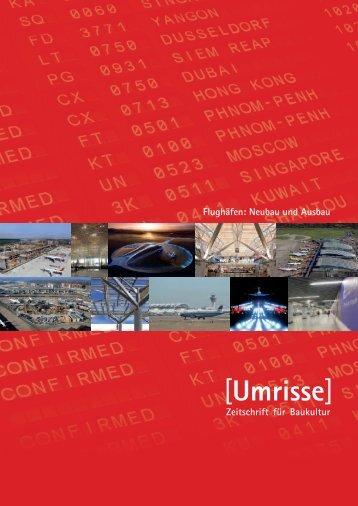04/05·2010 - Thema: Flughäfen: Neubau und Ausbau - Umrisse