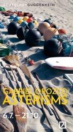 asterisms - Deutsche Guggenheim