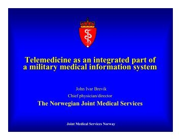 Presentation - Telemedicine & Advanced Technology Research ...