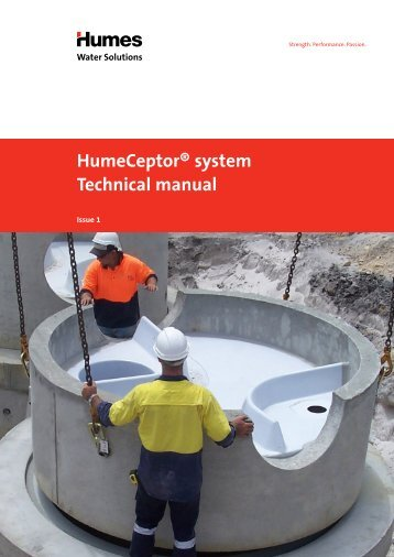 HumeCeptor® system Technical manual - Humes