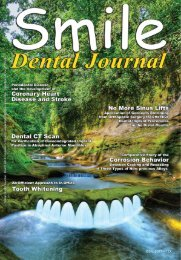 New Horizons In Implantology - Smile Dental Journal