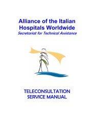 Alliance of the Italian Hospitals Worldwide - Ministero della Salute