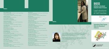 05-11 Biopolymere_Flyer_LA3.indd - Chemie - Universität Bayreuth