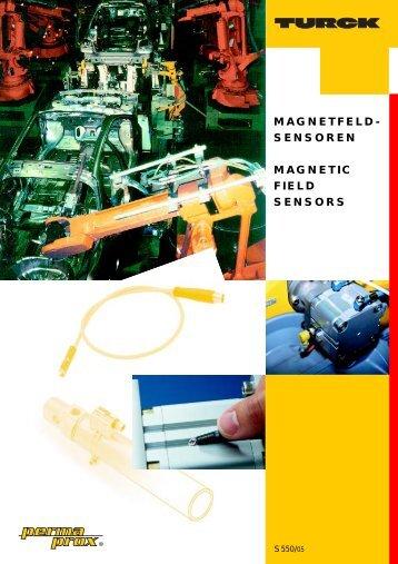 magnetfeld- sensoren magnetic field sensors - Turck Banner