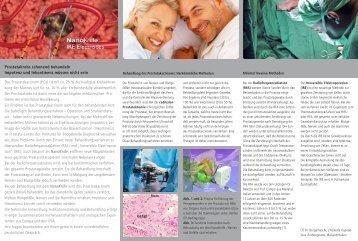 Minimal invasive Therapie des Prostatakarzinoms - Prof. Dr ...