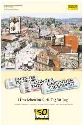 50 Jahre GmünderTagespost - Schwäbische Post