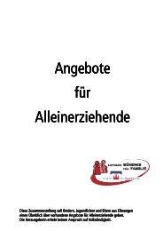 Angebote Angebote für Alleinerziehende ... - Stadt Ellwangen
