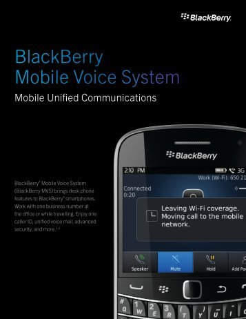 BlackBerry Mobile Voice System 5.2 (PDF)