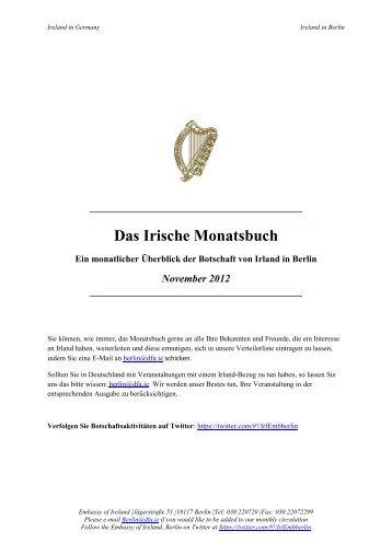 Das Irische Monatsbuch