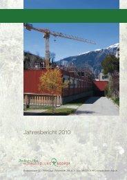 Jahresbericht 2010 - Alterssiedlung Bodmer Chur