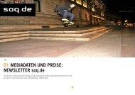 01 MEDIADATEN UND PREISE: NEWSLETTER soq.de