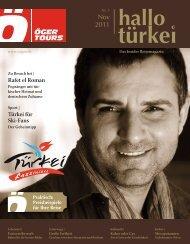 ÖGER TOURS - Insider Reisemagazin - Nr. 3 / November 2011