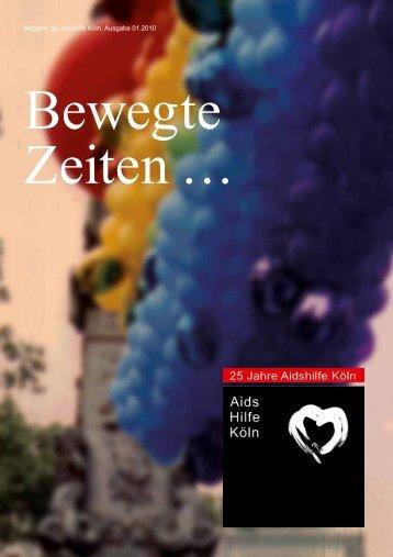 Magazin der Aidshilfe Köln, Ausgabe 01.2010