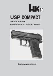 USP COMPACT - Waffen Braun