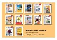Mediendaten 2010.pdf - DnM Das neue Magazin