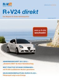Magazin R+V24 direkt - Ausgabe August 2011 (4 - Zur R+V24