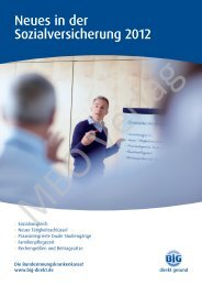 Teilnehmer- magazin Gestaltung BiG direkt - MBO Verlag GmbH