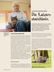 Katzenstreichlerin - AUFRAD.CH Home