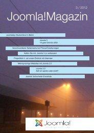 Magazin 3/2012 als PDF - Joomla!Club
