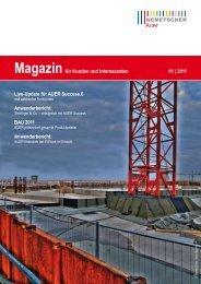 AUER Magazin 2011-01 - AUER - Die Bausoftware GmbH