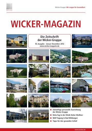in Bad Wildungen - Wicker-Magazin