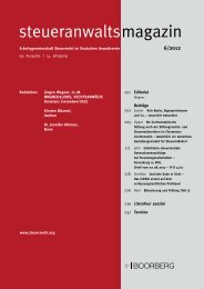 steueranwaltsmagazin 6/2012 - Steuerrecht