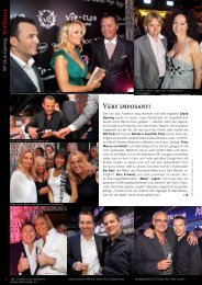 VIP Club Opening - TOP Magazin Frankfurt