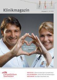 Klinikmagazin Ausgabe 1/2012 - Caritasklinik St. Theresia