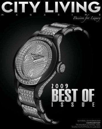 Best Of 2009 - City Living Magazine