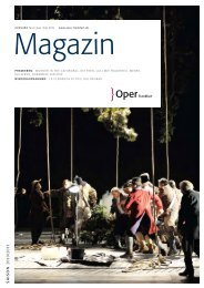 Opernmagazin Mai / Juni / Juli 2011 - Oper Frankfurt