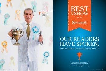 OUR READERS - Savannah Magazine
