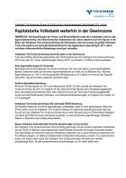 Nähere Informationen - Volksbank Tirol Innsbruck-Schwaz AG